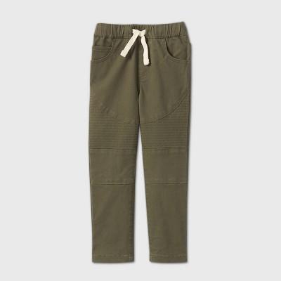 Toddler Boys' Moto Pull-On Pants - art class™ Green