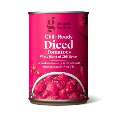 Chili-Ready Diced Tomatoes 14.5oz - Good & Gather™