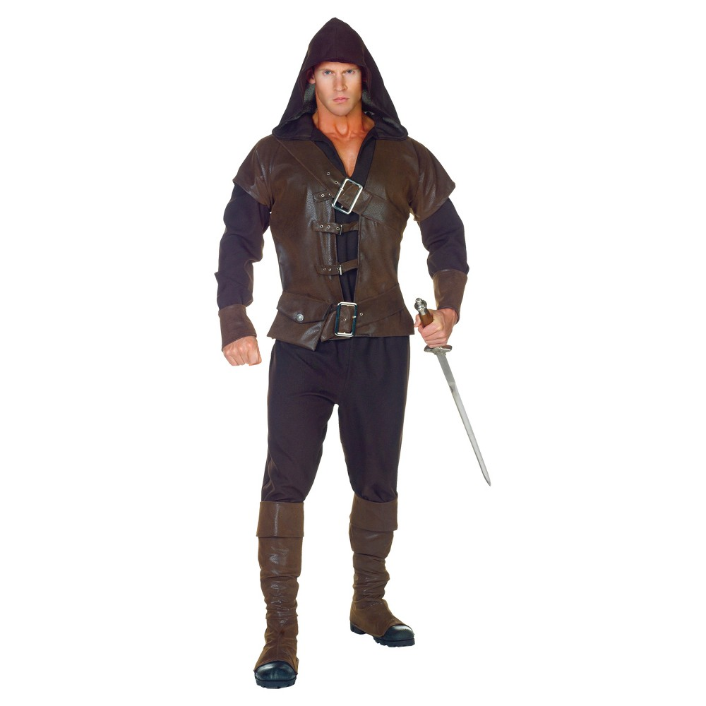 Boys' Assassin Adult Costume - XX-Large, Size: Xxl, Blue