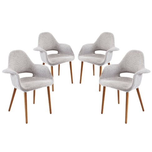 Aegis Dining Armchair Set of 4 - Modway - image 1 of 4