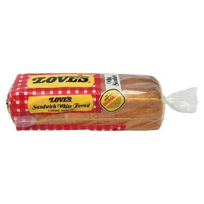 Love's Sandwich White Bread - 24oz