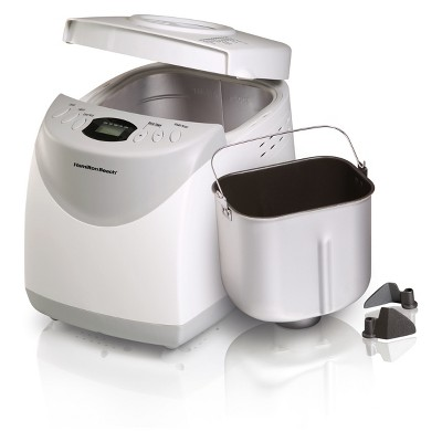 Hamilton Beach 2lb Home Baker Breadmaker - White 29881