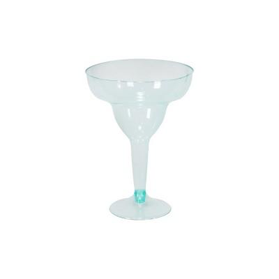 12oz 10ct Margarita Glasses Turquoise - Spritz™