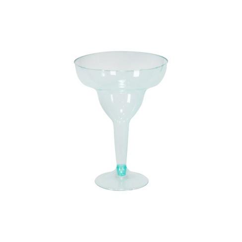 10ct Margarita Glasses Turquoise - Spritz™ - image 1 of 2