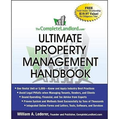 Completelandlord.com Property - by  William A Lederer (Paperback)