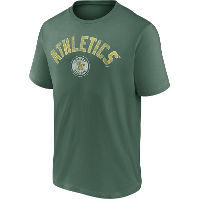 MLB Oakland Athletics Men's Short Sleeve Bi-blend T-Shirt