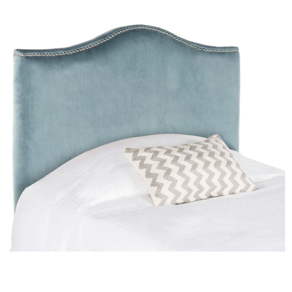 Image of Adult Headboard Blue - Safavieh, Size: KING, Wedgewood Blue