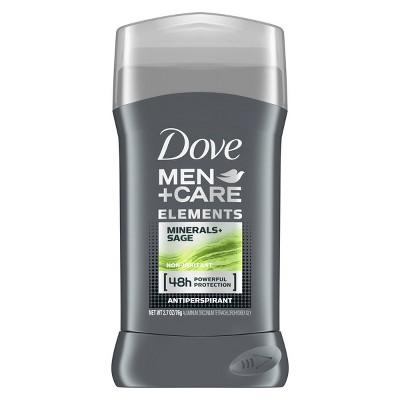 Deodorant: Dove Men+Care Elements Antiperspirant & Deodorant Stick
