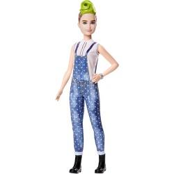 Barbie Fashionistas Doll #124  Green Mohawk