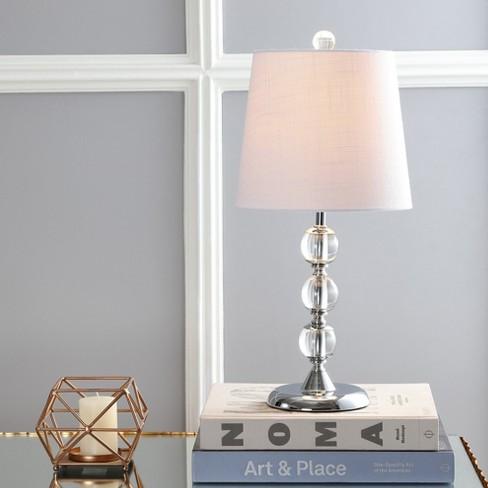 20 Hudson Crystal Mini Led Table Lamp Clear Includes Energy