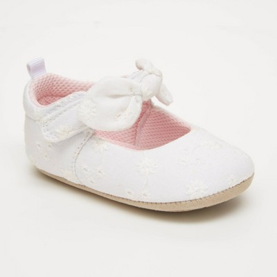 Baby Girls' Surprize by Stride Rite Slip-On Flats - White 6-12M