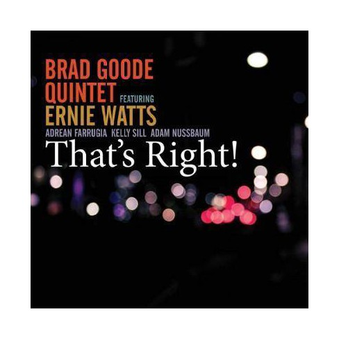 Brad Goode - That's Right! (CD) - image 1 of 1