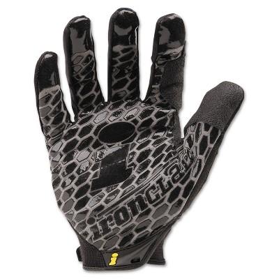 Ironclad Box Handler Gloves Black Large Pair BHG04L