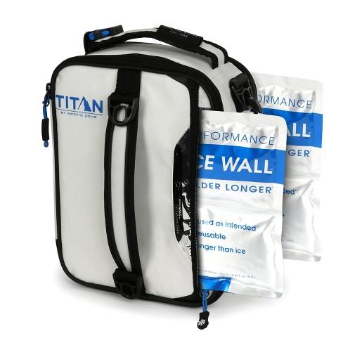 Arctic Zone Titan Deep Freeze Expandable Lunch Box - White