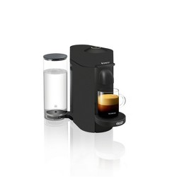 Nespresso VertuoPlus Coffee and Espresso Machine - Black Matte