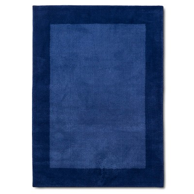 Border Area Rug Blue 5'x7' - Pillowfort™
