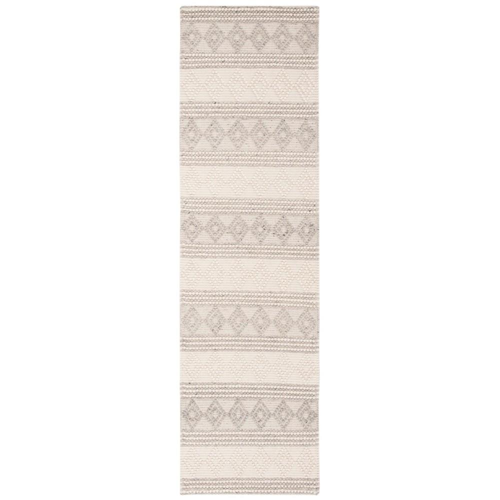 2'2X8' Woven Geometric Runner Rug Gray - Safavieh