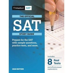 Official SAT Study Guide 2020 Edition - (Paperback)