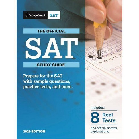 Best Sat Prep Book 2020.Official Sat Study Guide 2020 Edition Paperback