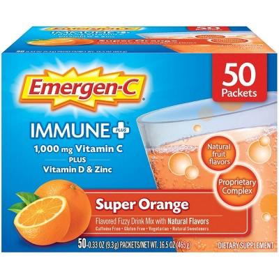 Emergen-C Immune+ - Orange - 50ct
