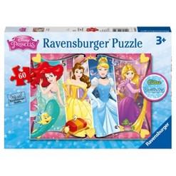 Ravensburger Disney Princess Heartsong Glitter Puzzle 60pc
