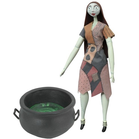 Nightmare Before Christmas Coffin Doll Sally with Cauldron 14-Inch - image 1 of 1