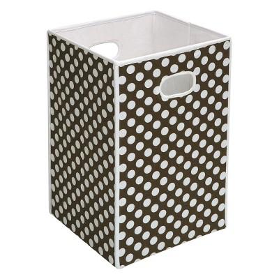Badger Basket Folding Hamper & Storage Bin - Brown