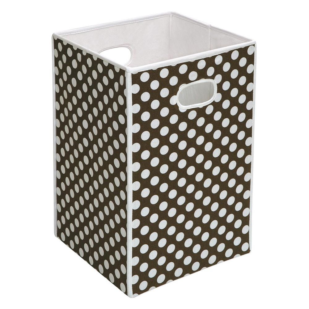 Image of Badger Basket Folding Hamper & Storage Bin - Brown