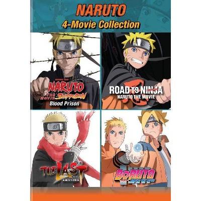 Naruto: 4-Movie Collection (DVD)(2020)
