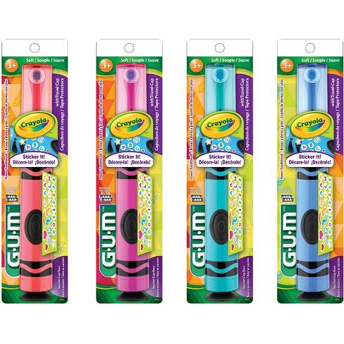 Gum 174 Crayola Electric Toothbrush Target