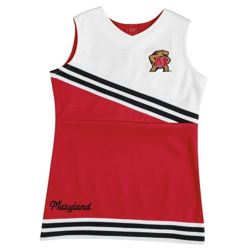 NCAA Maryland Terrapins Toddler Girls' 2pc Cheer Set - image 1 of 4