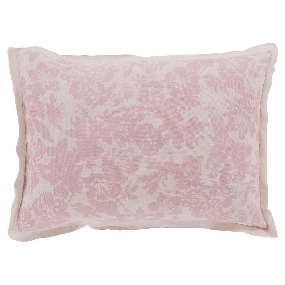 Appenzell Luxury Bedding Sham (Euro) Rose (Pink) - Surya