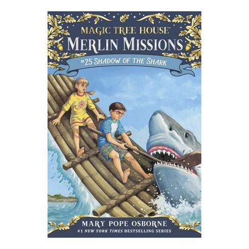 Shadow of the Shark ( Magic Tree House: Merlin Misson) (Hardcover) by Mary Pope Osborne - image 1 of 1