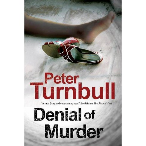 Denial of Murder - (Harry Vicary Mysteries) by  Peter Turnbull (Hardcover) - image 1 of 1