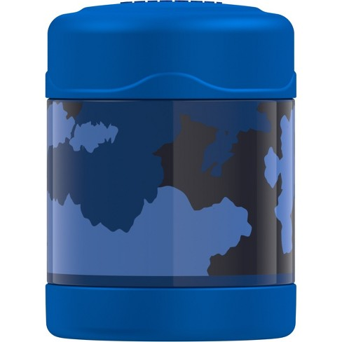 Thermos CRCKT 10oz Funtainer Food Jar - Blue Camo - image 1 of 2