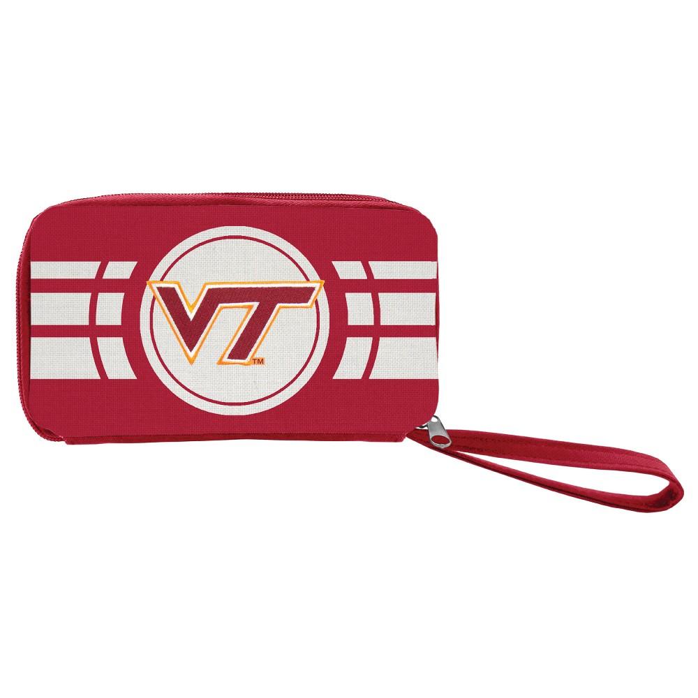 NCAA Virginia Tech Hokies Ripple Zip Wallet, Adult Unisex
