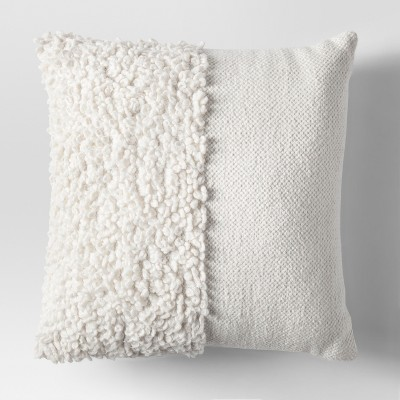 Cream Solid Textured Throw Pillow - Project 62™