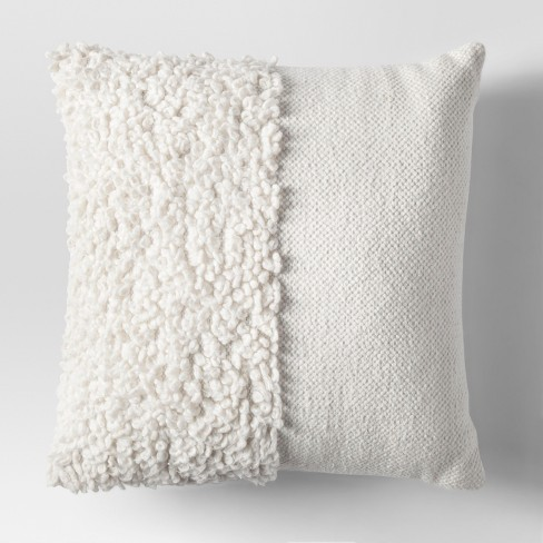 Cream Solid Textured Throw Pillow - Project 62™ : Target