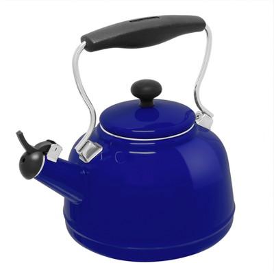 Chantal 2qt Vintage Teakettle - Blue