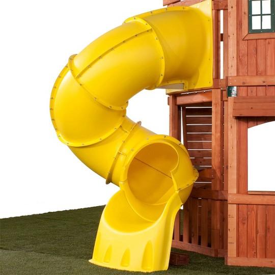 Swing-N-Slide 5' Turbo Tube Slide- Yellow image number null