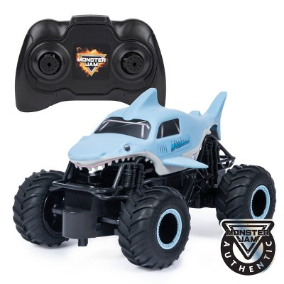 Monster Jam Official Megalodon  1:24 Scale  Remote Control 2.4 GHz Monster Truck