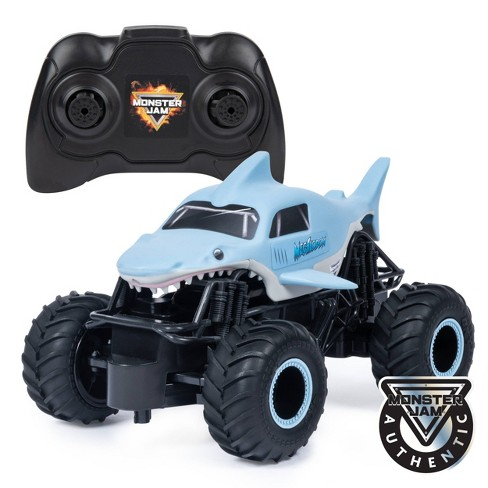 Monster Jam Official Megalodon  1:24 Scale  Remote Control 2.4 GHz Monster Truck - image 1 of 4