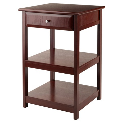 30 71 Delta Printer Stand Walnut Winsome