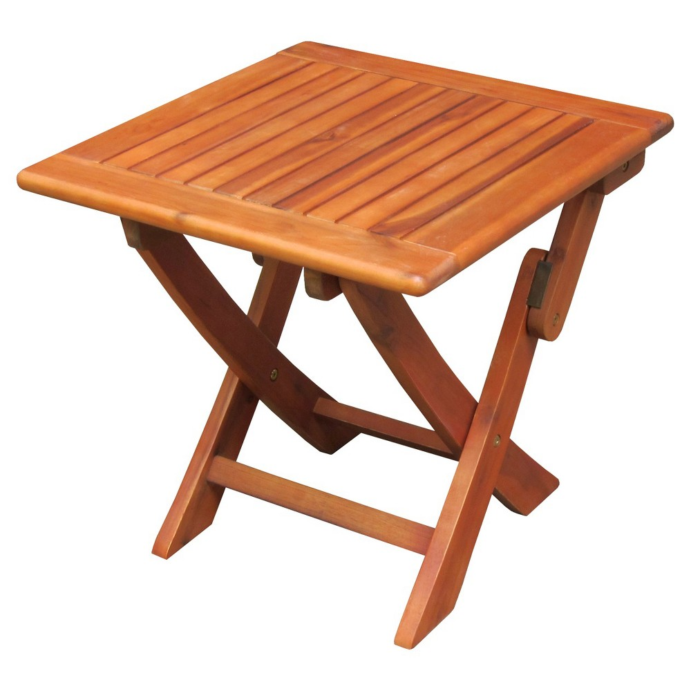 International Concep Patio Side Table - Brown