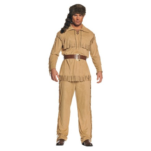 Men's Frontier Costume One Size Fits Most - image 1 of 1
