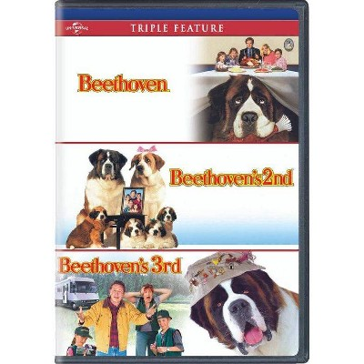 Beethoven/Beethoven's 2nd/Beethoven's 3rd (DVD)