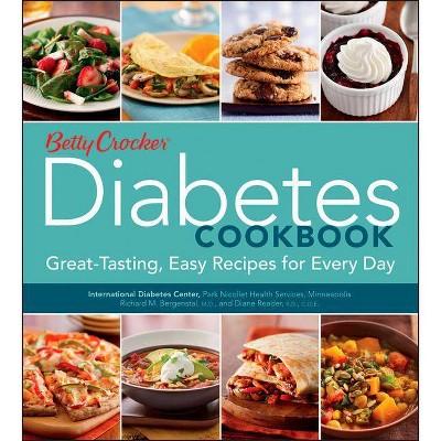 Betty Crocker Diabetes Cookbook - (Betty Crocker Cooking) (Paperback)