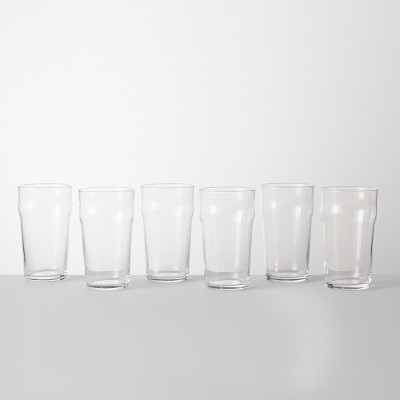 19.3oz Pint Glasses Set of 6 - Made By Design™