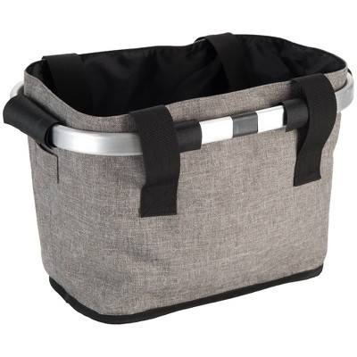 Huffy Designer Foldable Basket - Gray