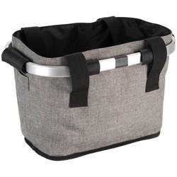 Huffy Designer Foldable Basket - Gray